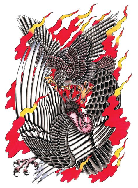 vulture you re no falcon hiten damodar tattoo art