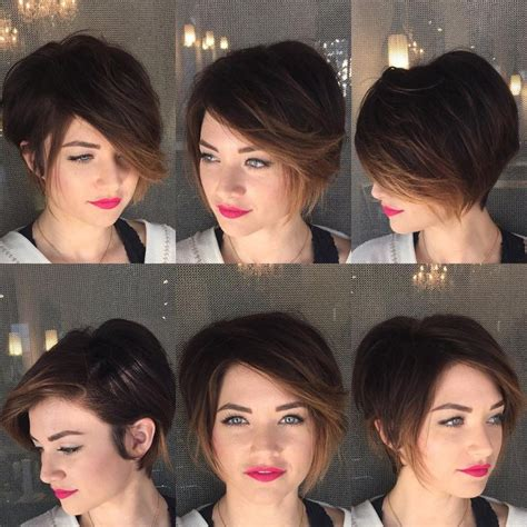 differnt ways to hilight pixie style haircut 587 best short hair ideas images on pinterest hairstyle