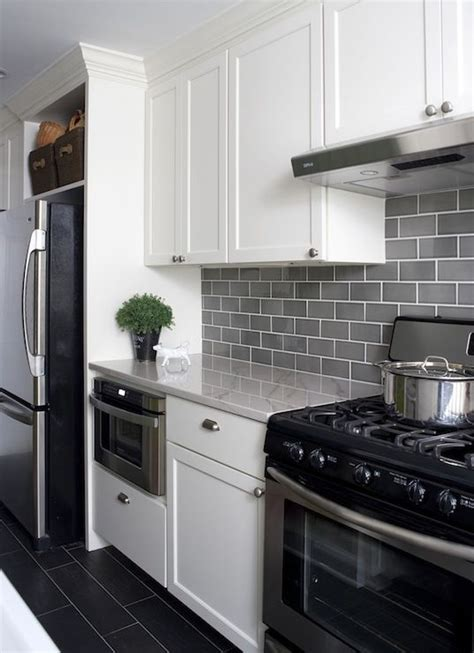 modern subway tile 35 ways to use subway tiles in the kitchen digsdigs
