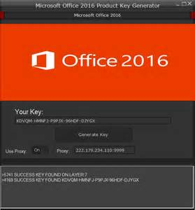 microsoft office 2016 product key serial free