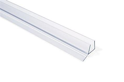 Shower Door Wipes And Seals Showerdoordirect Frameless Shower Door Seal With Wipe For 1 2 Inch Glass 98 In