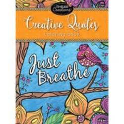Creative Quotes Coloring Book Just Breathe Colored