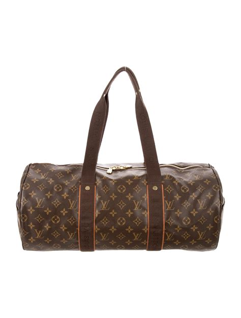 louis vuitton monogram beaubourg sporty duffle bag bags