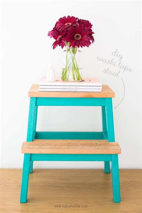 ikea step diy makeovers that transform the ikea bekvam step stool