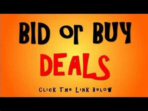 bid or bay bid or buy special page fresh deals promotions visit