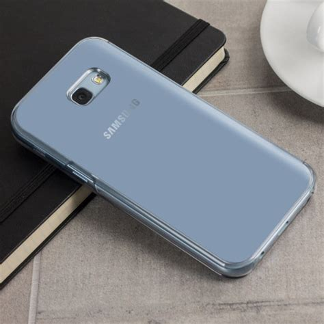 Clear View Cover Samsung A5 2017 offici 235 le samsung galaxy a5 2017 clear view cover blauw