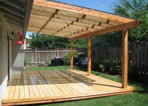 Wood Patio Cover Ideas » Home Design 2017
