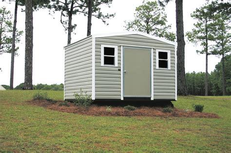 side gable box eave portable buildings lark builders