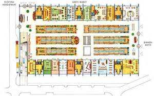 market floor plan market hall what if dunedin