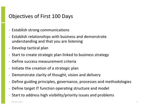 the first 100 days for a new cio using the innovation
