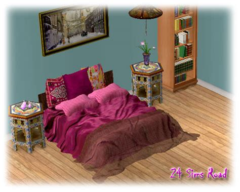 sims 3 beds mod the sims pink bed