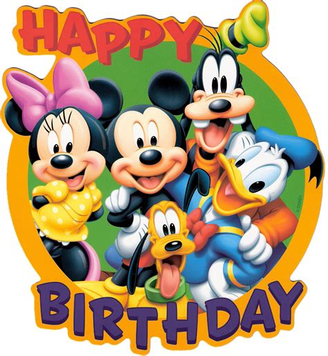 mickey mouse happy birthday images best disney birthday clipart 18391 clipartion com