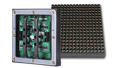 P10 Led Modul Semioutdoor Hijau p10 outdoor dip led module aceopto brand