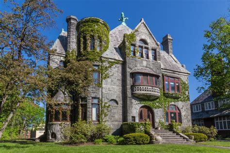 French Chateau Style Homes mini castles for sale 3 romanesque revival houses to buy