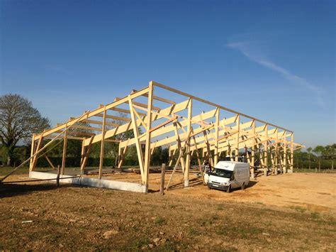 charpente hangar bois charpente bois hangar agricole catodon obtenez des