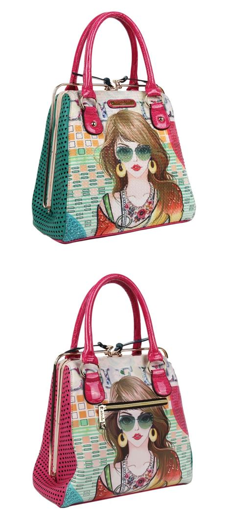 september 2014 new print and bags on pinterest suzy print frame bag by nicole lee nicolelee purse 2014