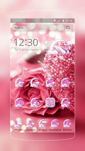 theme rose android download rose gold pink theme for android appszoom