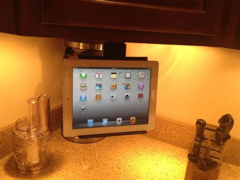 kitchen tv cabinet mount cabinet tablet mount