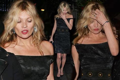 The 3am Worse For Wear Kate Moss And Osbourne Pair Up For A Out by Kate Moss Looks Worse For Wear After Bff S
