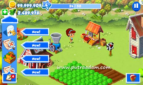 mod game green farm 3 apk green farm 3 v4 0 6 mod apk terbaru hack unlimited gold