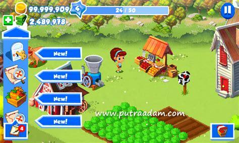 Game Farm Mod Apk Terbaru | green farm 3 v4 0 6 mod apk terbaru hack unlimited gold