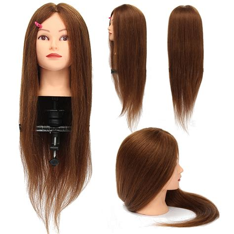 100 Real Hair Mannequin by 26 100 Real Hair Practice Mannequin