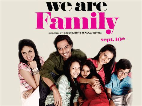 Film India We Are Family | we are family bollywood stars wallpaper 16782120 fanpop