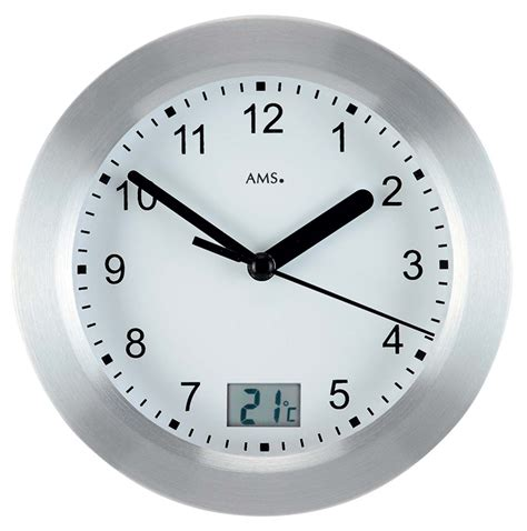 bathtub clock ams 9223 wall clock bathroom clock new ebay