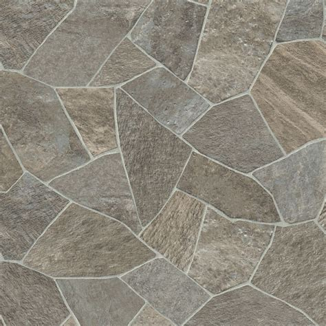 vinyl floor covering textured stone look antimicrobial