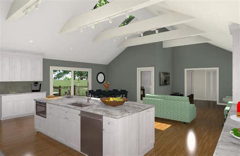 Open Floor Concept Design by Open Floor Plan Concept Design Build Pros