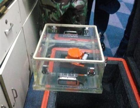 Menara Kotak Hitam black box atau kotak hitam air jt610 mengungkap