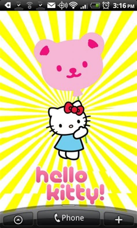 hello kitty live wallpaper theme hello kitty live wallpaper app for android
