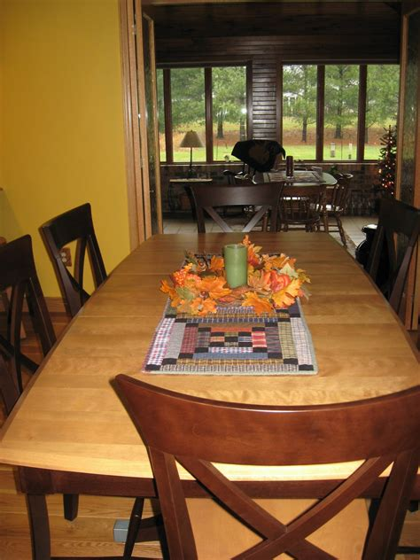 dining room table runners quilter beth s blog november 2010
