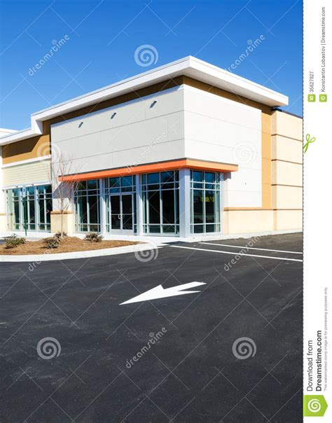 small commercial building designs small commercial office new commercial building stock image image of parking