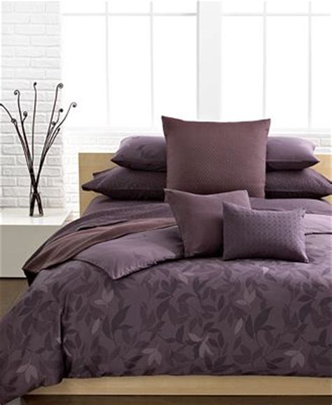 Calvin Klein Bedding Sets Closeout Calvin Klein Elm Comforter Sets Bedding Collections Bed Bath Macy S