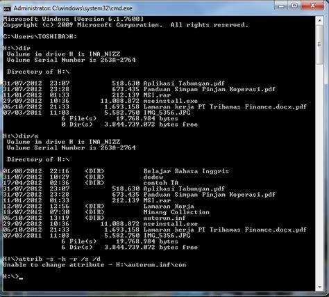 membuat virus hidden internetanaza cara mengembalikan file folder yg di hidden