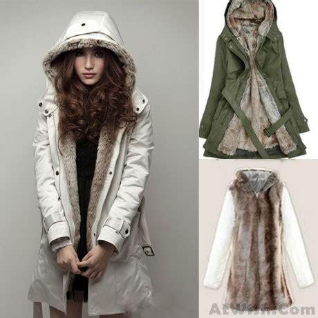 detachable plush liner thick cotton windbreaker jacket