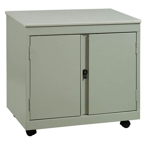 mobile metal storage cabinet laminate top used mobile storage cabinet putty national