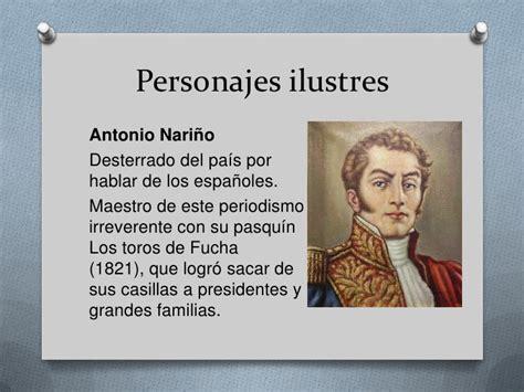 imagenes personajes historicos de venezuela historia del periodismo en colombia
