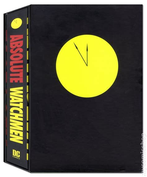 watchmen absolute edition watchmen hc 2005 dc absolute edition comic books