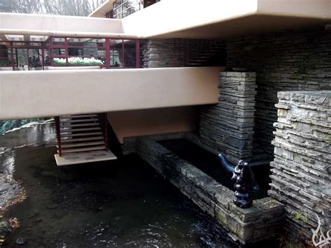 Falling Water Interior falling water frank lloyd wright between here and heaven