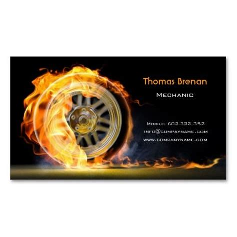 mechanic business cards templates free 292 best auto repair business cards images on
