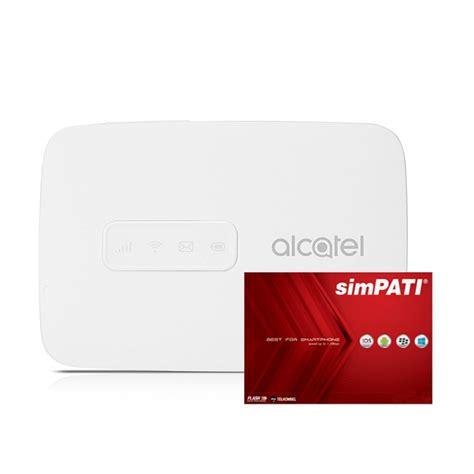 Mifi 4g Lte Alcatel Mw40 Bundling Telkomsel 14gb 2bulan alcatel mifi mw40 tokopda