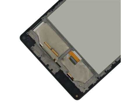 nexus 7 2013 front nexus 7 2013 lcd assembly w front housing 3g black