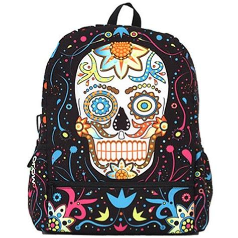 quot day of the dead quot bag by mojo backpacks day of the dead
