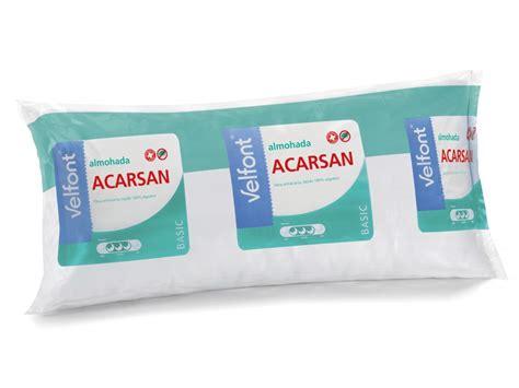 almohada antiacaros almohada anti 225 caros acarsan velfont textildelhogar es