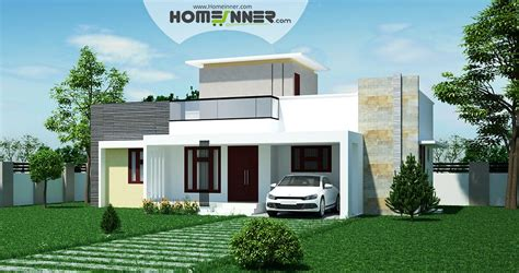 home designs india free low cost 2 bhk indian house design for 971 sqft indian