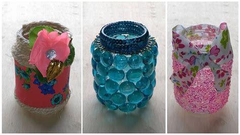 como decorar frascos de vidrio you tube c 243 mo decorar frascos de vidrio 3 ideas candy bu youtube