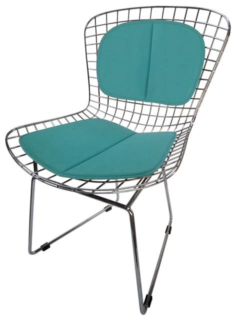 bertoia side chair pads cushion back pad for bertoia side chair miracle fabric