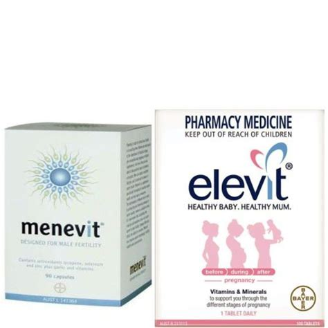 Elevit With Iodine 100 Tablet Aif612 elevit 100 tablets images